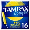 Тампоны с аппликатором TAMPAX Compak Regular, 1 упаковка х 16 шт. - изображение