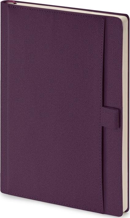 """Ежедневник недатированный А5 """"Marseille"""", цвет фиолетовый #1"""