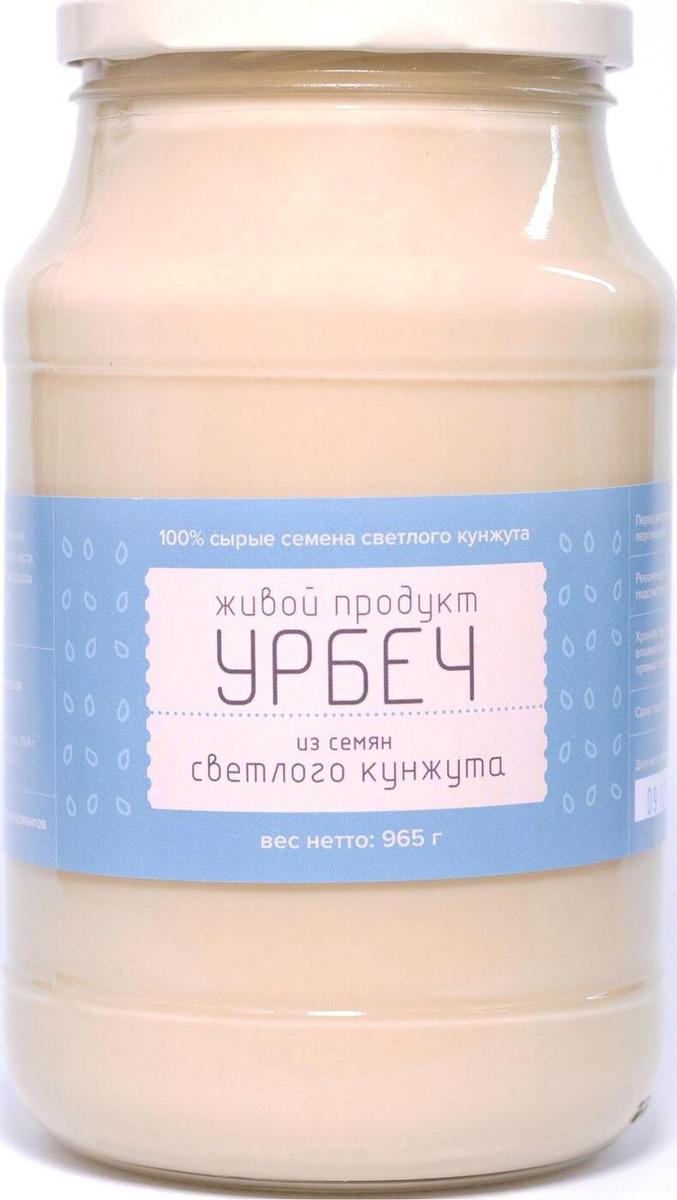 Урбеч Живой Продукт из семян светлого кунжута, паста, 965 г  #1