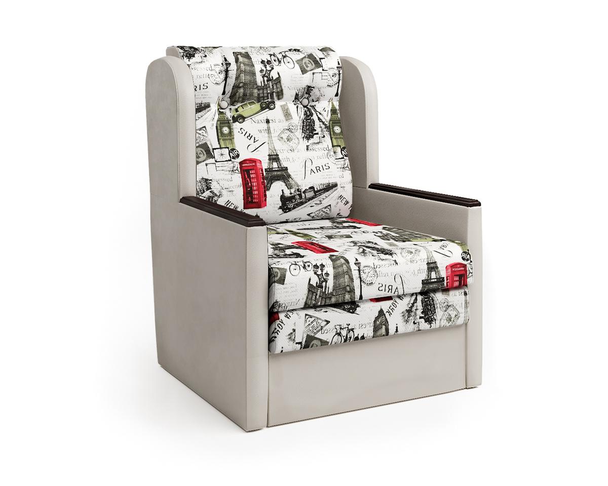 Кресло-кровать Классика Д, Велюр, разноцветный #1