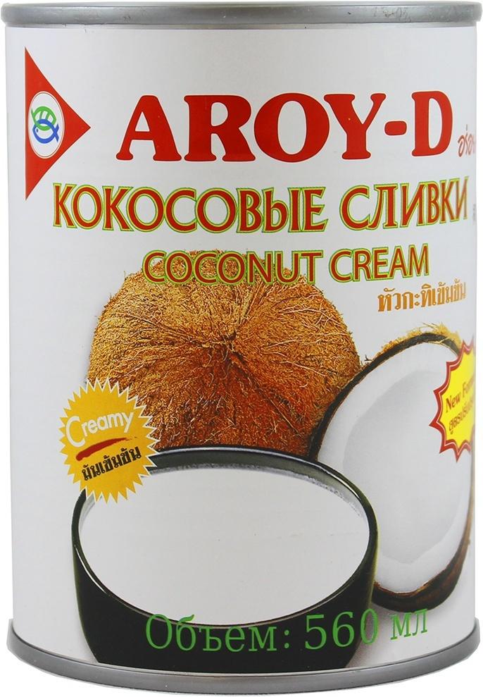Кокосовый крем Aroy-d 85% жирность 20-22%, 560 мл #1