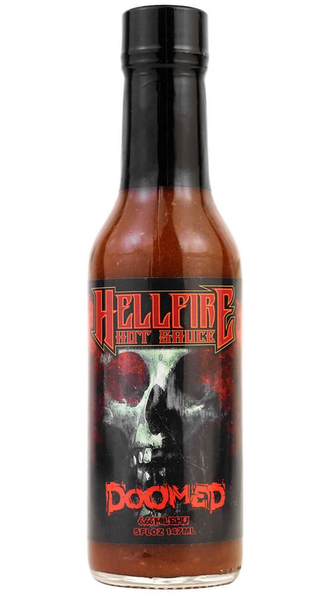 Ультра острый соус из Америки 2.79 миллиона Сковиллей Hellfire Doomed  #1