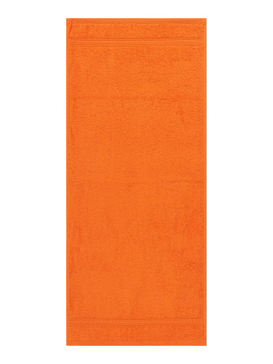 Полотенце для лица, рук Cleanelly Радуга Хлопок, 30x70 см, оранжевый  #1