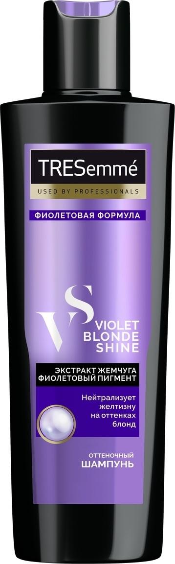 Tresemme Оттеночный шампунь для волос Violet Blond Shine, тон фиолетовый, 250 мл  #1