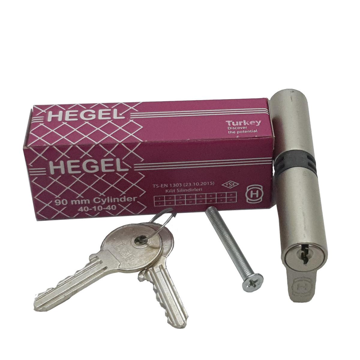 Цилиндровый механизм (личинка) HEGEL для врезного замка (40+10+40 mm)  #1
