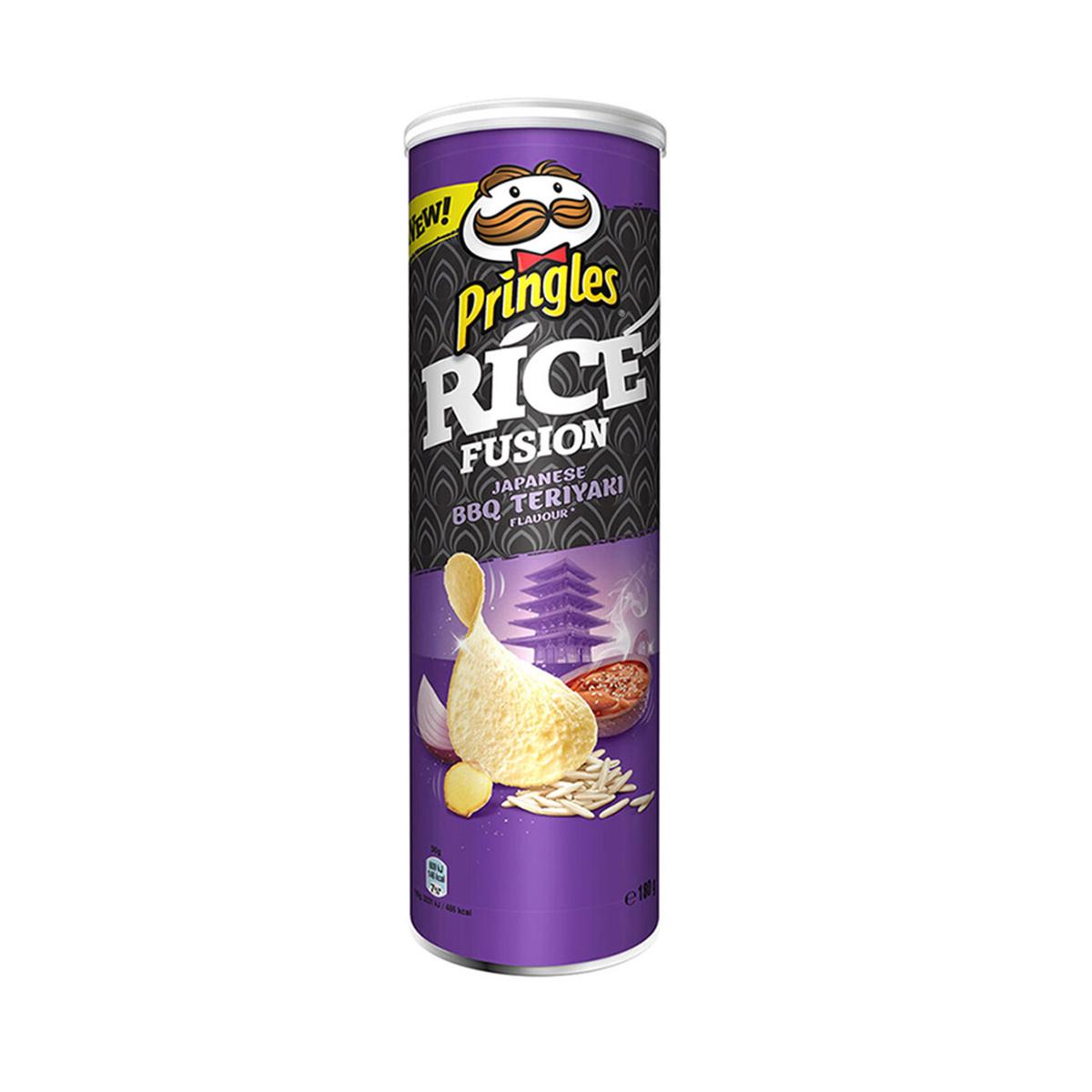 Чипсы рисовые Принглс (Pringles) Rice 160г Японское барбекю и терияки, Бельгия  #1