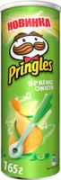 Pringles Картофельные чипсы со вкусом зеленого лука, 165 г