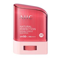 AHC NATURAL PERFECTION DOUBLE SHIELD стик для лица  Солнцезащитный  14 гр. Возьмите с собой!
