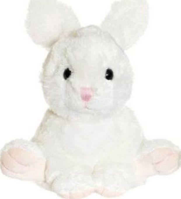Мягкая игрушка Teddykompaniet Заяц, белый, 17 см