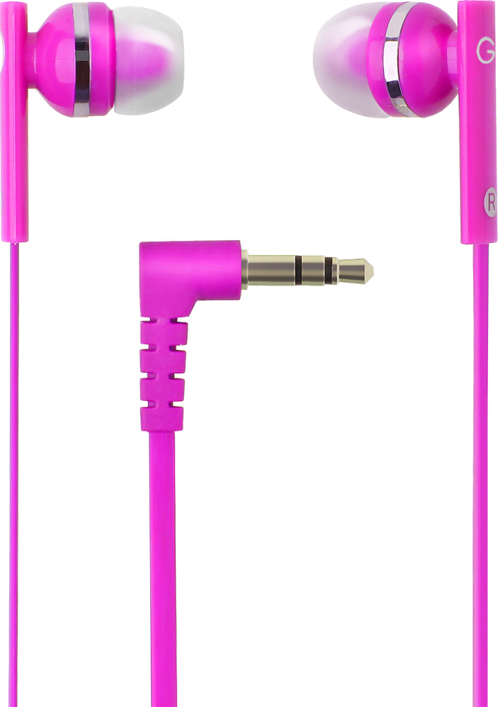цена на Наушники проводные GAL M-005P-F Цвет: розовый