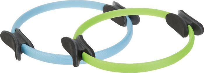 Кольцо для пилатеса Iron People IR97603, голубой, зеленый