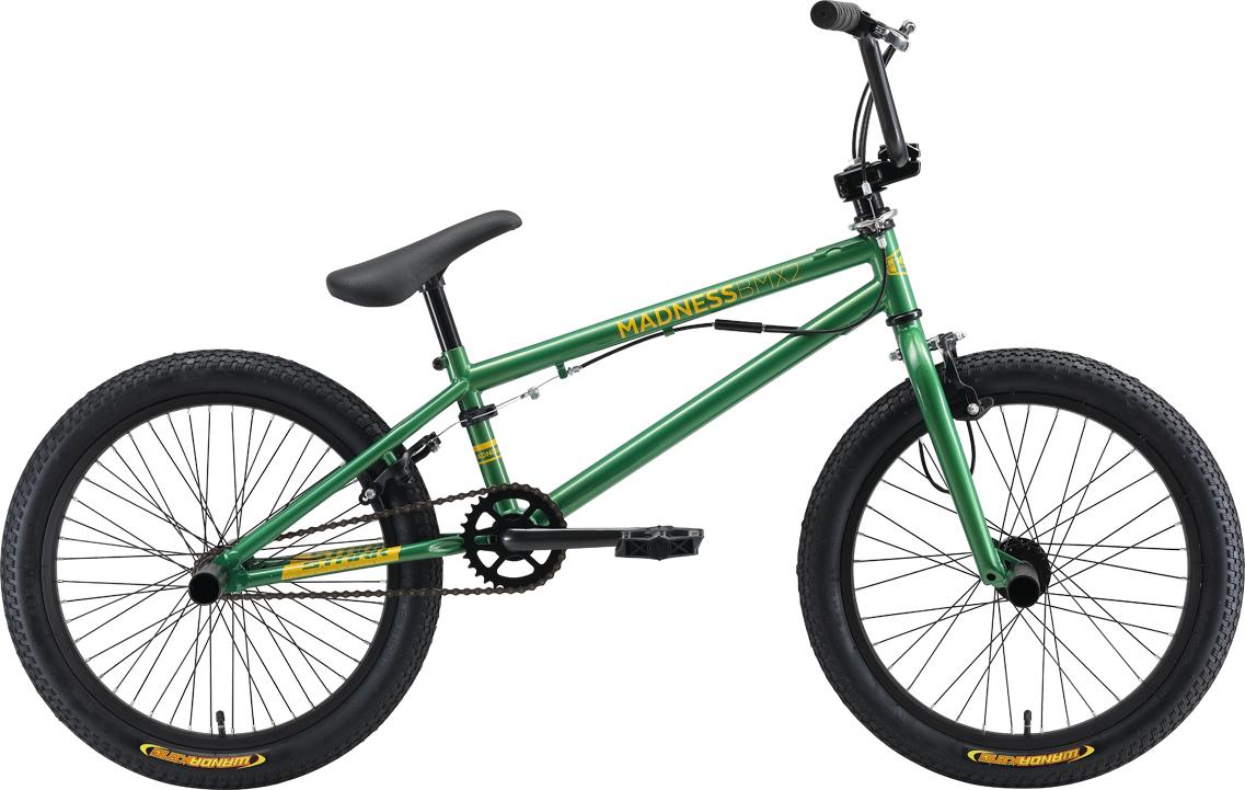 Велосипед STARK Madness BMX 2 2019 one чёрный/голубой велосипед stark madness bmx 2 2019