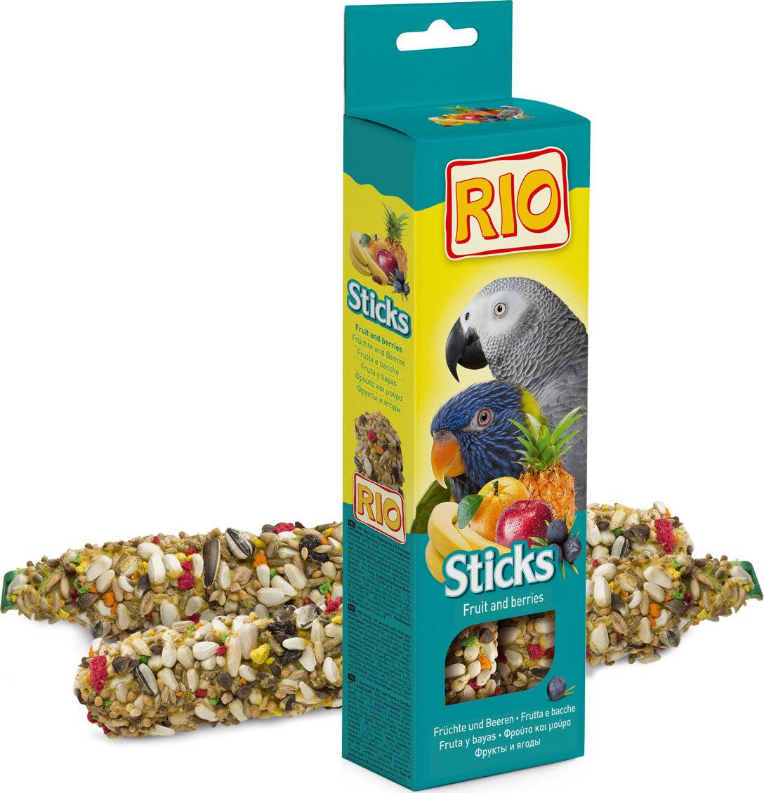 РИО Палочки д/попугаев с фруктами и ягодами хранителни добавки fitness 1
