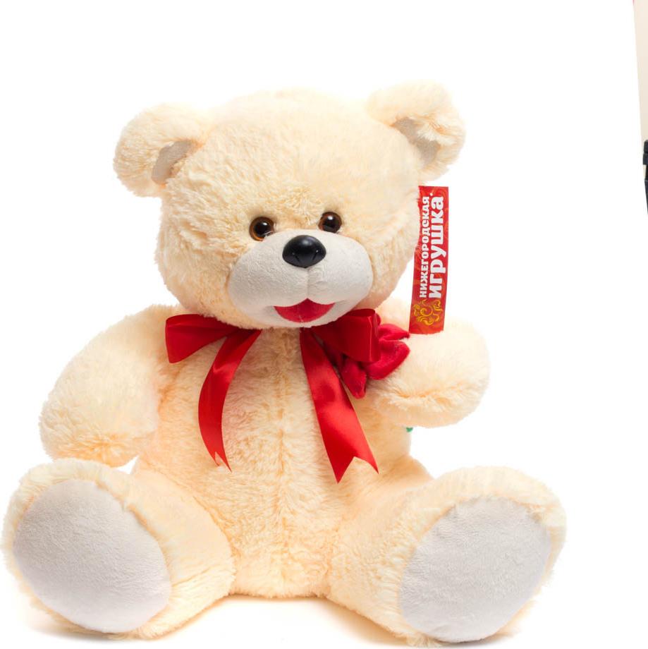 Мягкая игрушка Медведь с цветком Нижегородская Игрушка См-247-ц-5