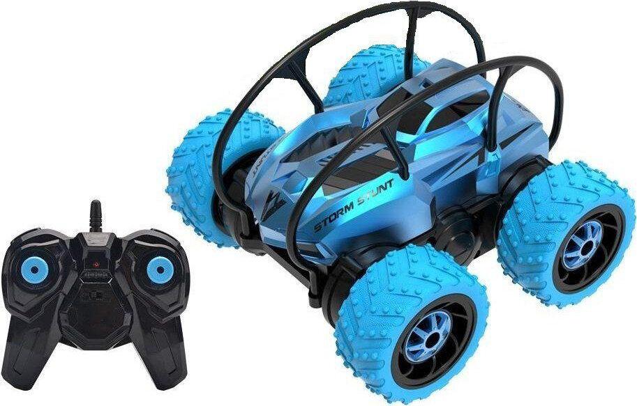 Машинка Каскадер, радиоуправляемая, 4 колеса Голубой