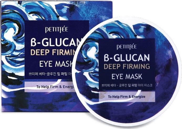Petitfee B-Glucan Deep Firming Eye Mask Глубоко увлажняющие тканевые патчи, 60 шт