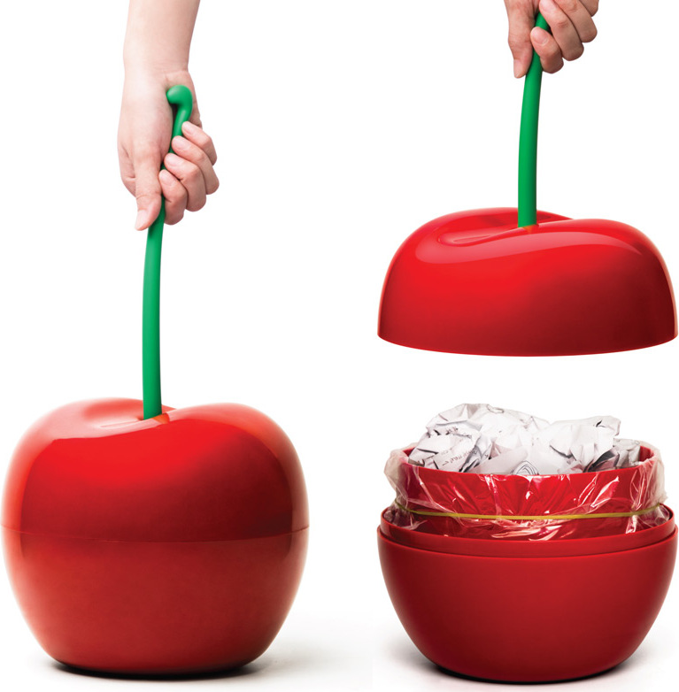 Корзина для мусора Qualy Cherry корзина для мусора qualy cherry