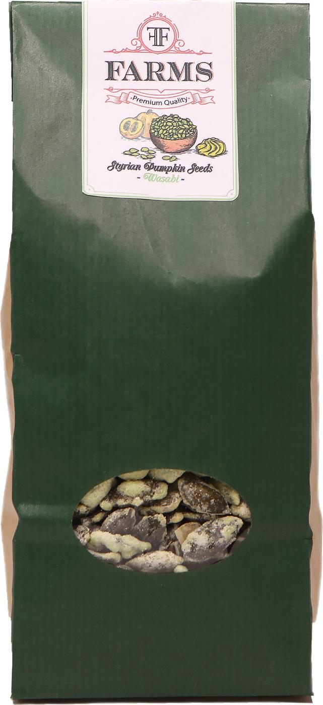 Штирийские тыквенные семечки в глазури Васаби Kurbis Knabber Kerne, 300 гр