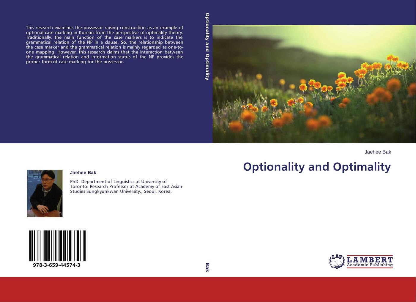 Jaehee Bak Optionality and Optimality