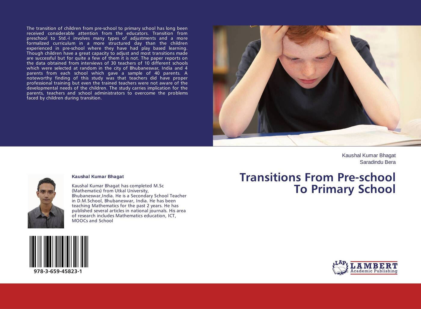 Kaushal Kumar Bhagat and Saradindu Bera Transitions From Pre-school To Primary School gerard o shea educating in christ a practical handbook for developing the catholic faith from childhood to adolescence for parents teachers catechists and school administrators
