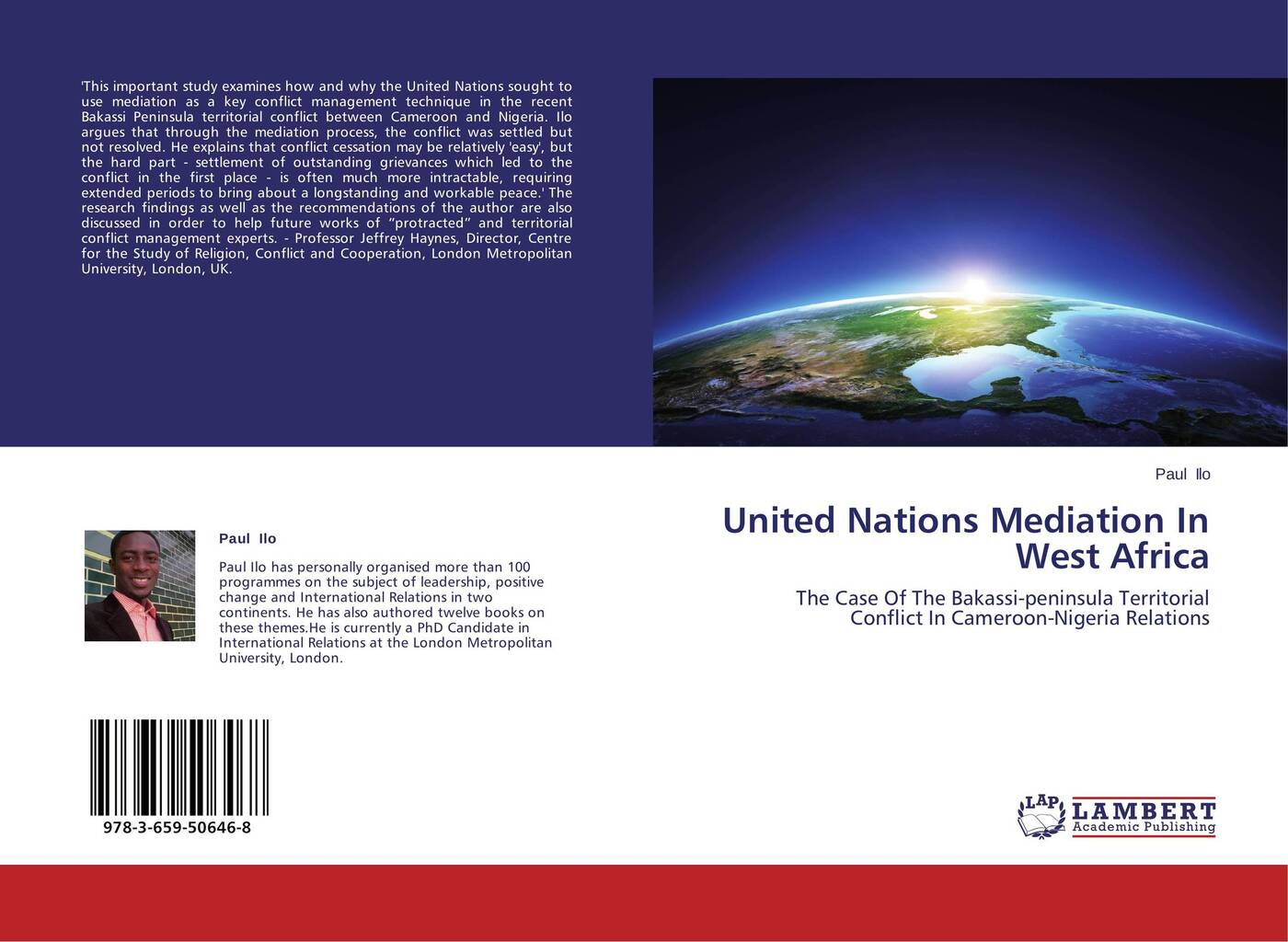 Paul Ilo United Nations Mediation In West Africa post conflict peace building of united nations in kenya