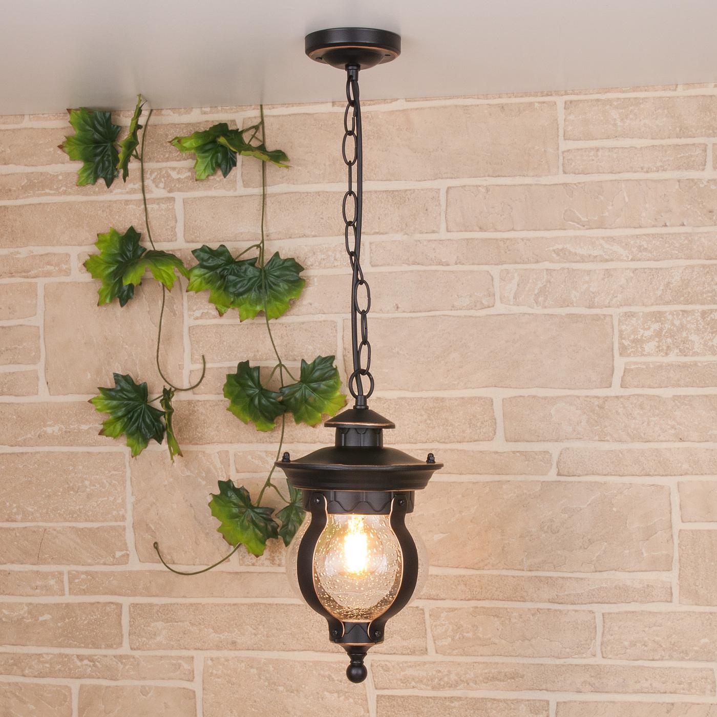 Садовое освещение Elektrostandard a040565, E27 садово парковый светильник elektrostandard virgo f 2 черное золото 4690389064883