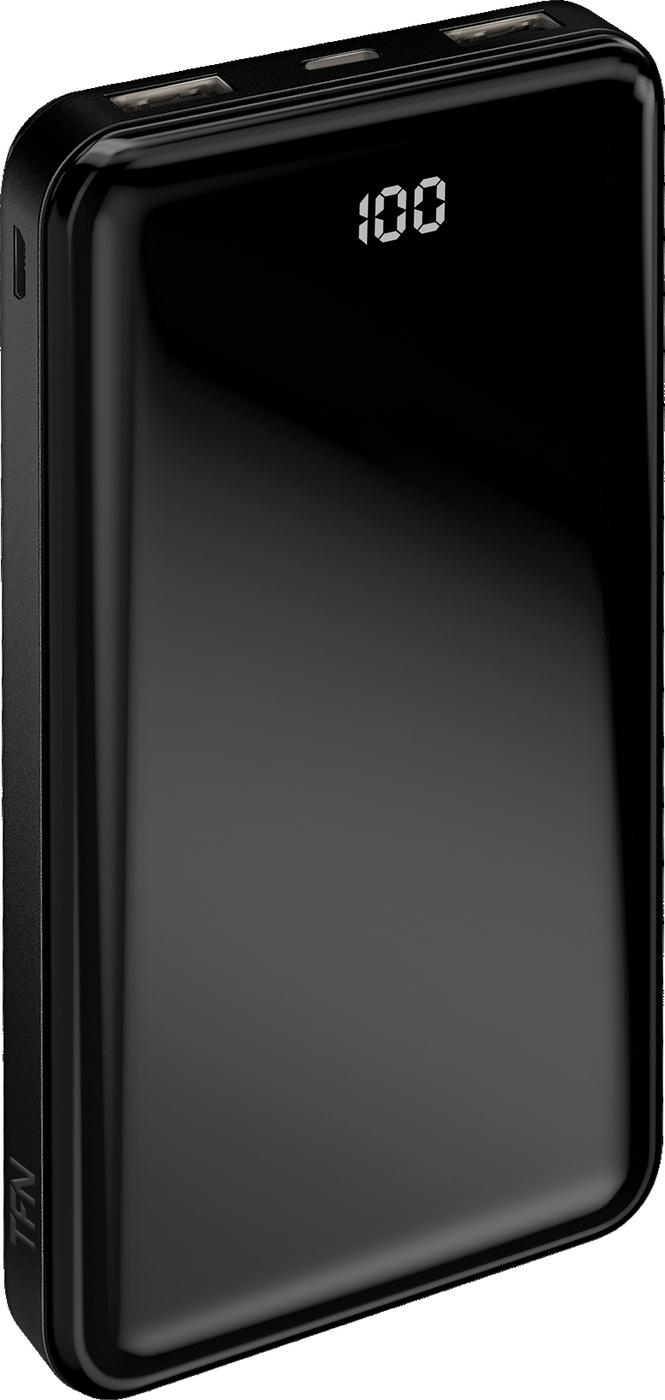 Внешний аккумулятор TFN АКБ 10000mAh Shade LCD black
