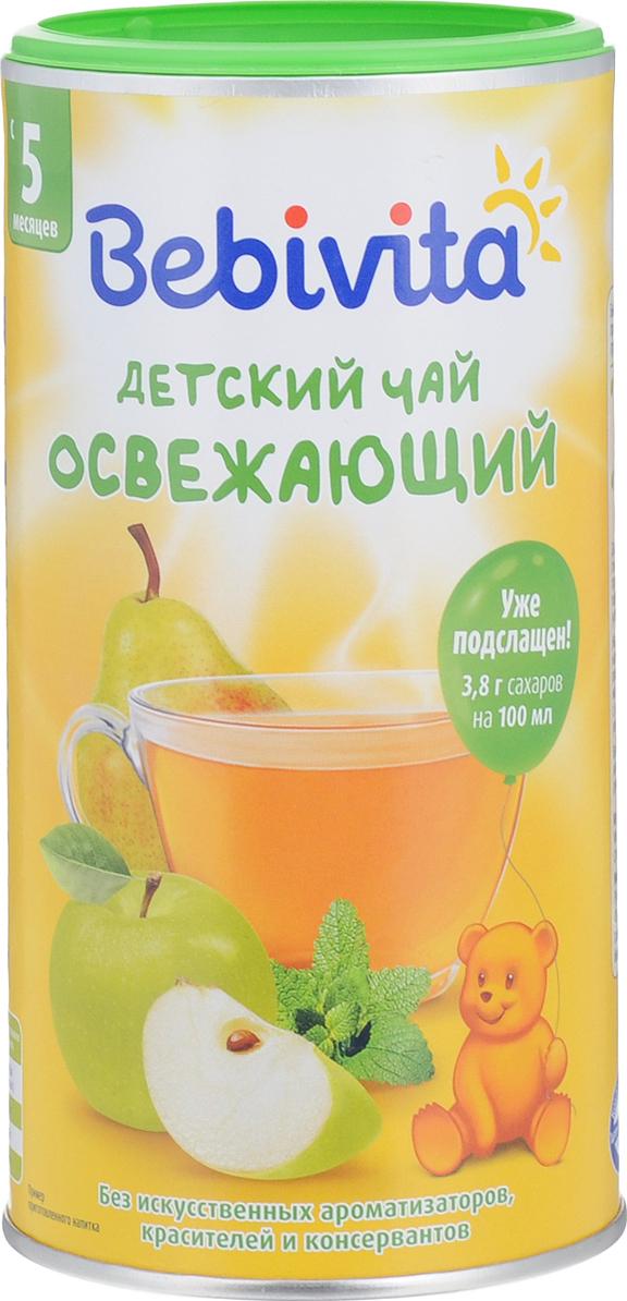 Bebivita Освежающий чай гранулированный, с 5 месяцев, 200 г детский балет 12месяцев 2019 12 27t18 00