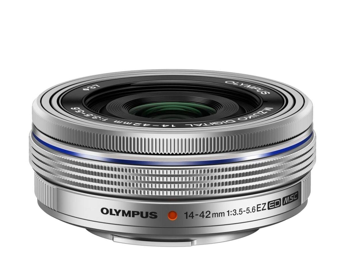 Объектив Olympus M.Zuiko Digital ED 14-42mm F3.5-5.6 EZ, серебристый