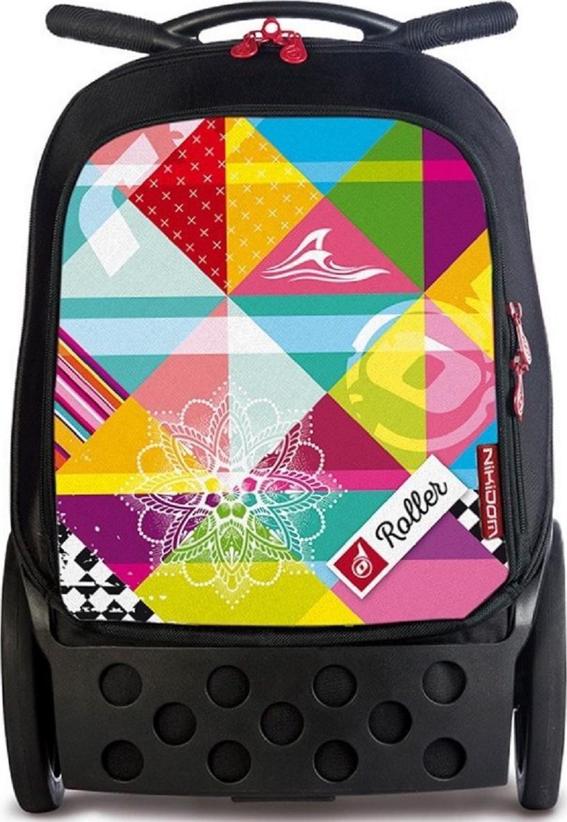 Рюкзак на колесах Nikidom Supergirl, размер XL