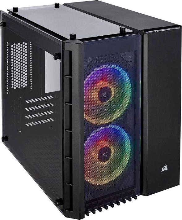 Компьютерный корпус Corsair Crystal Series 280X RGB TG CC-9011135-WW micro ATX Black