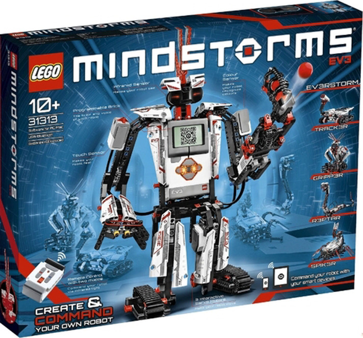 LEGO 31313Конструктор MINDSTORMS Education EV3 Загрузи приложение Commander на свой смартфон, чтобы заставить робота...