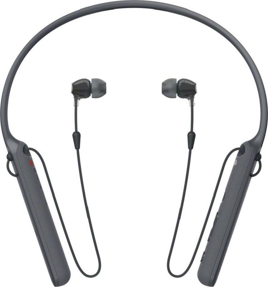 Беспроводные наушники с микрофоном Sony WI-C400B Black