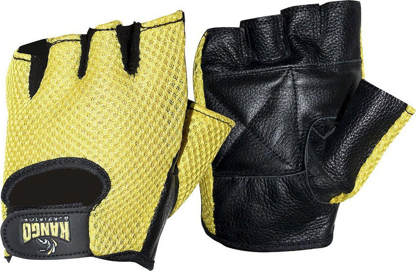 Перчатки для фитнеса Kango WGL-074, черный, размер L