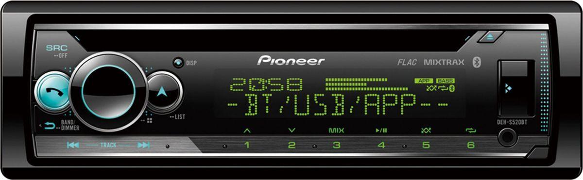 Автомагнитола Pioneer DEH-S520BT