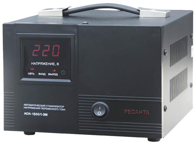 Стабилизатор АСН-1500/1-ЭМ Ресанта