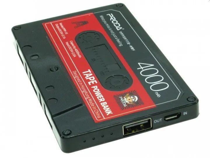 Внешний аккумулятор Remax Proda Tape PPP-15 4000mAh, черный