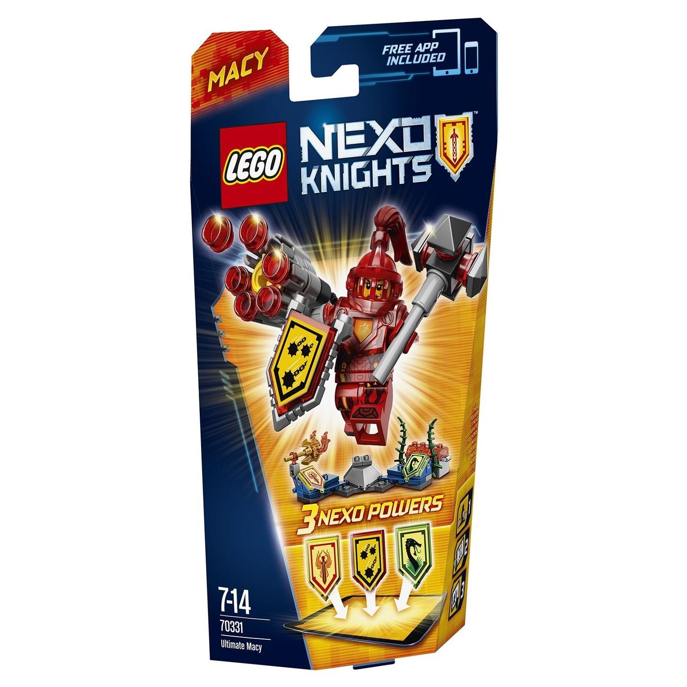 LEGO Nexo Knights Конструктор Мэйси  Абсолютная сила 70331
