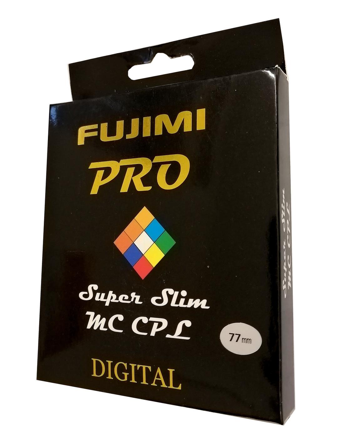 Светофильтр Fujimi PRO Super slim MC CPL 77мм