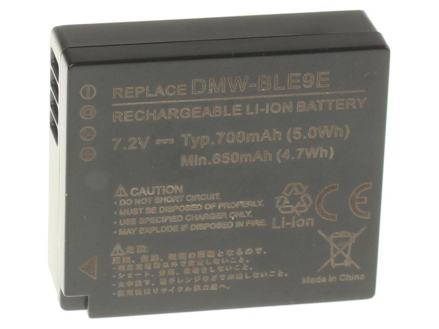 Аккумуляторная батарея iBatt iB-T1-F231 750mAh для камер Leica D-Lux (Typ 109),  для Panasonic Lumix DMC-LX100, Lumix DMC-GF3, Lumix DMC-GF5, Lumix DMC-GX7, Lumix DMC-GF6,