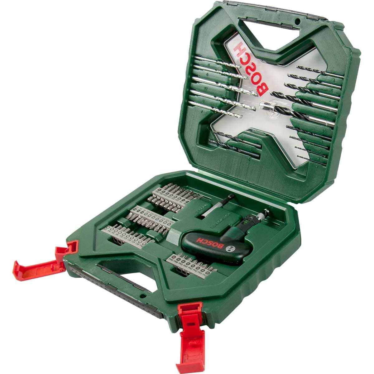 Набор оснастки 54 шт. Bosch X-Line 2607010610