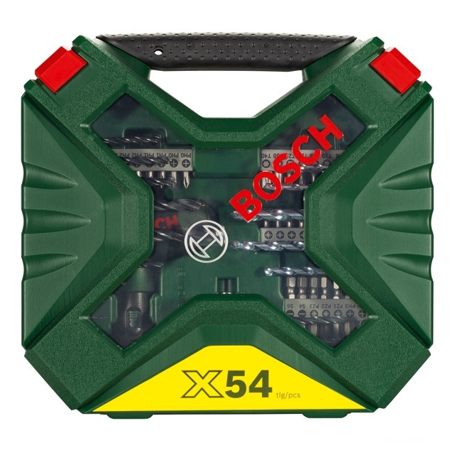 Набор сверл и насадок-бит Bosch X-Line Classic (54 шт.) (арт. 2607010610)