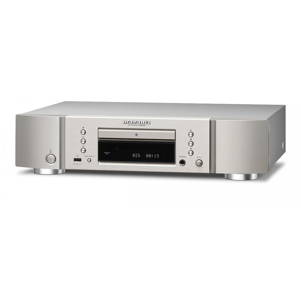marantz CD Player and Headphone Amplifier CD-6006 / FN (Silver Gold)