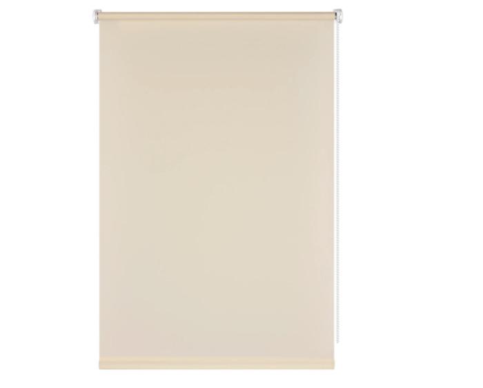 Штора рулонная, 40x160 см, цвет кремовый-20406