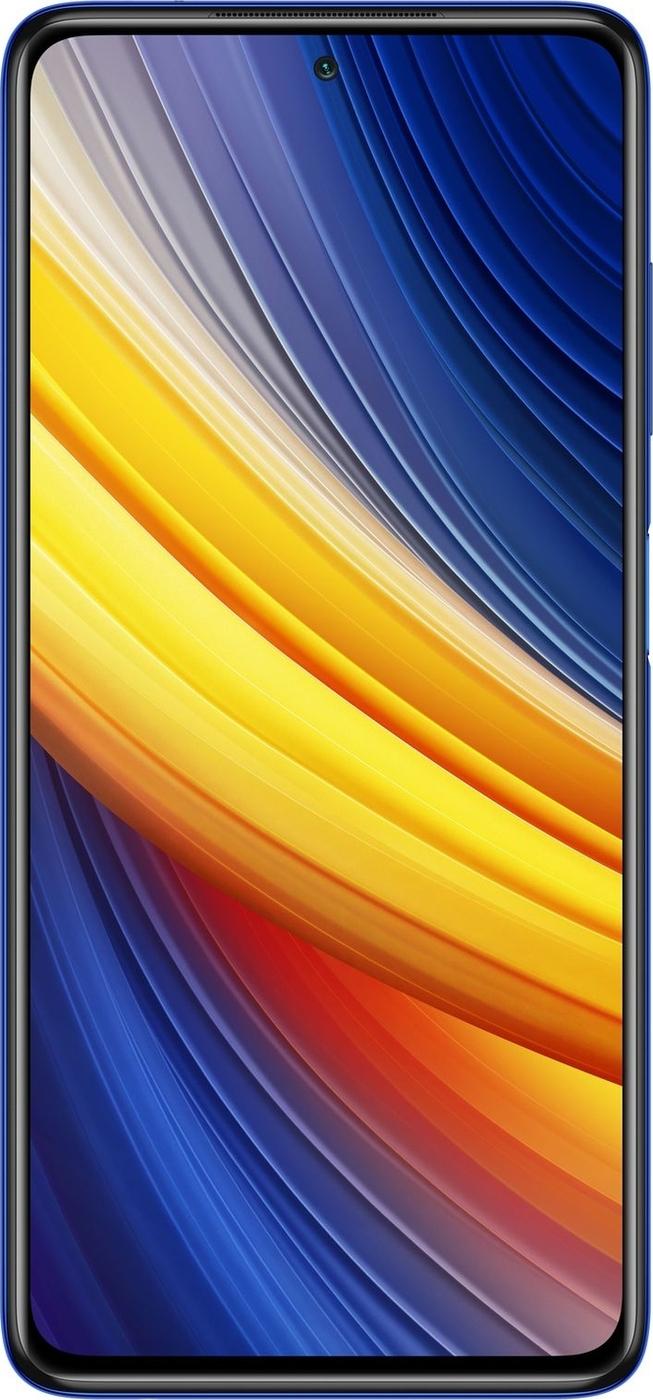 смартфон xiaomi poco x3 pro mzb08us  6/128gb, синий иней
