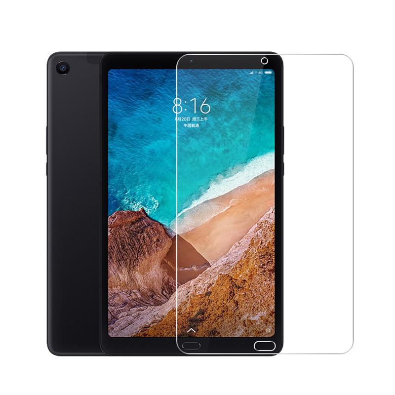 Защитное противоударное стекло MyPads для планшета Xiaomi Mi Pad 4 с олеофобным покрытием  #1
