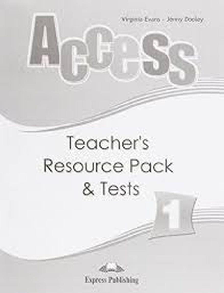 Access 1: Teacher's Resource Pack & Tests | Эванс Вирджиния, Дули Дженни #1
