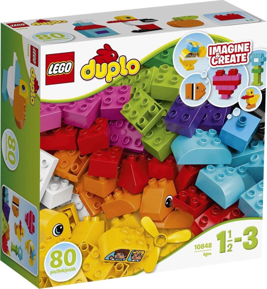 Конструктор LEGO DUPLO 10848 Мои первые кубики #1