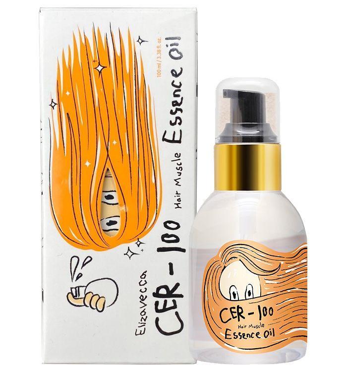 Elizavecca Эссенция для волос с коллагеном для поврежденных и сухих CER-100 Hair Muscle Essence Oil, #1