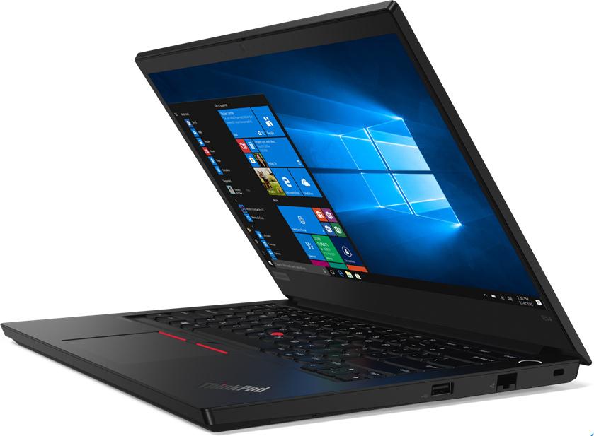 """14"""" Ноутбук Lenovo 14"""" ThinkPad E14 (20RA002QRT), черный, Intel Core i3-10110U (2.1 ГГц), RAM 8 ГБ, SSD #1"""